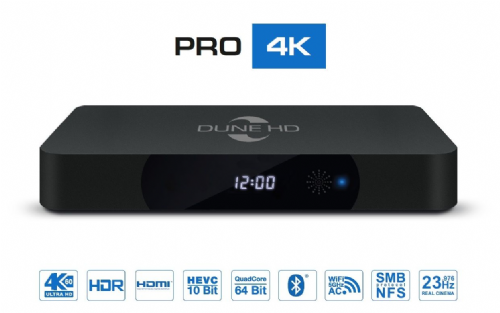 "Dune HD Pro 4K <span style=""color:#ff0000;"">(Out Of Stock)</span><br />"